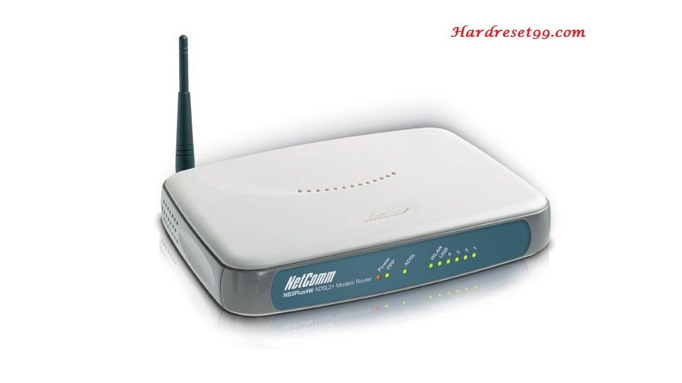 NetComm NB5Plus4W Router - How to Reset to Factory Settings