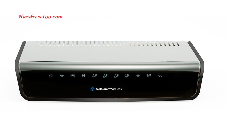 NetComm NF12 Router - How to Reset to Factory Settings