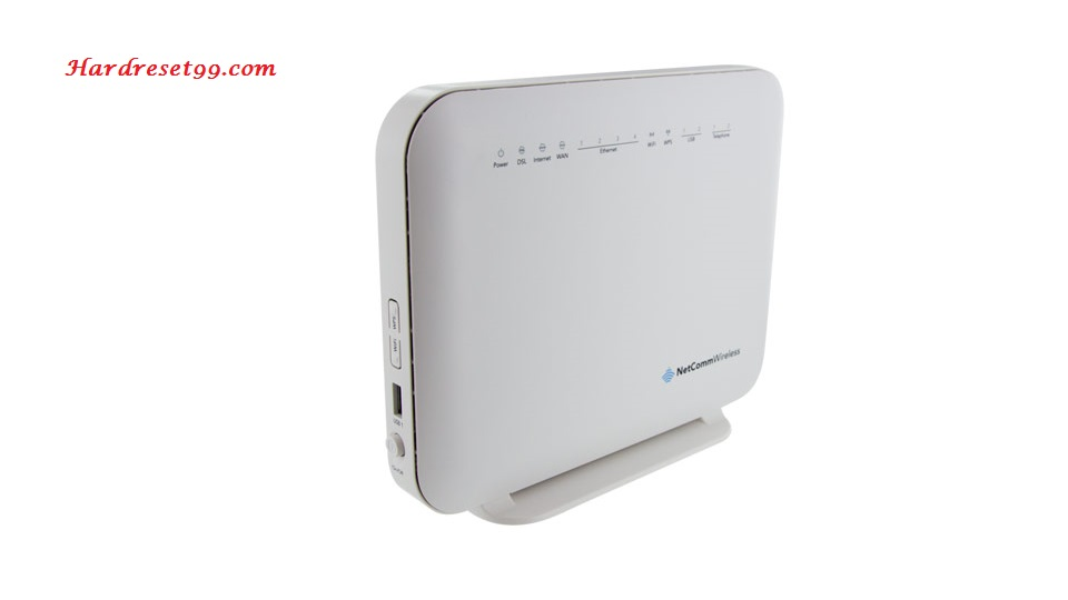 NetComm NF4V Router - How to Reset to Factory Settings