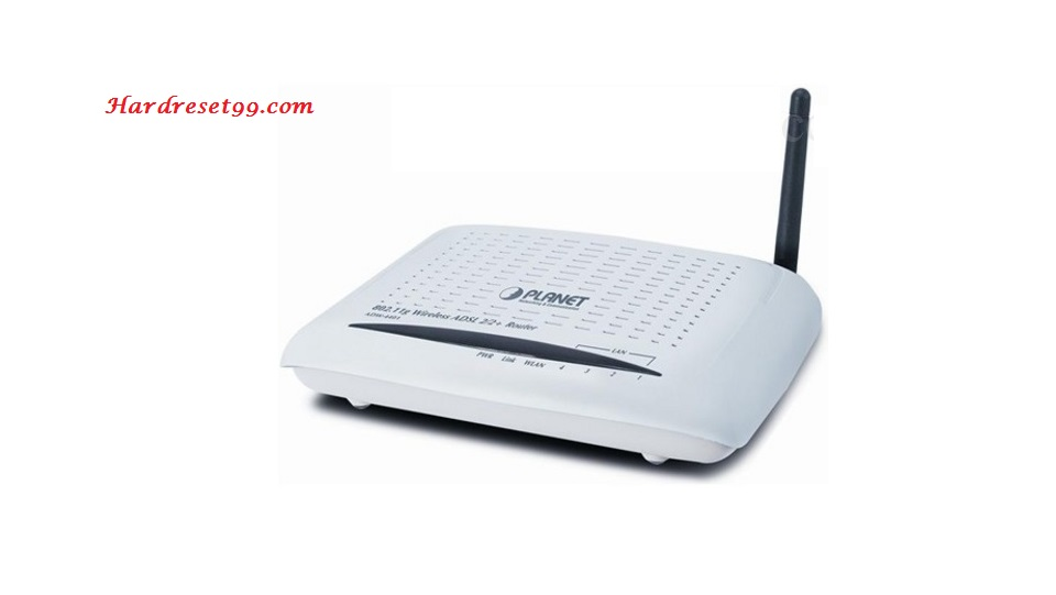Planet ADW-4401Av4 Router - How to Reset to Factory Settings