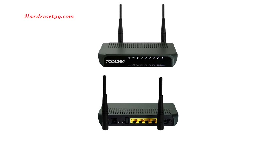 Prolink Hurricane-6300GL Router - How to Reset to Factory Settings