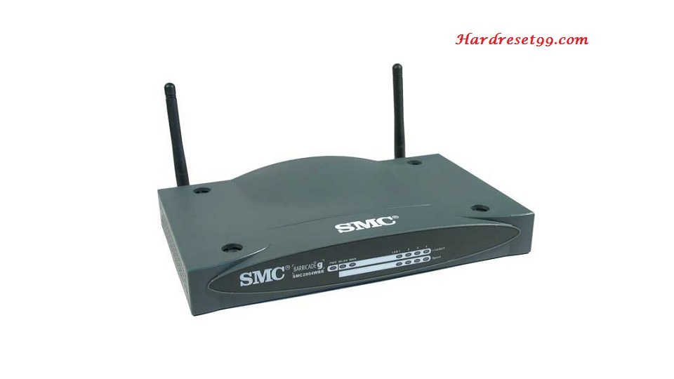SMC SMC2804WBRP-G Router - How to Reset to Factory Settings