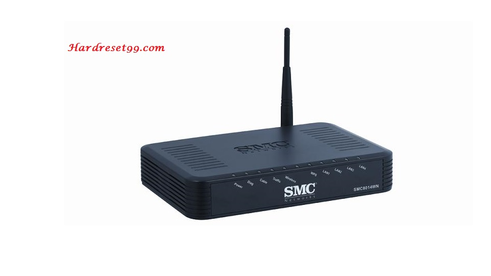 SMC SMC8014WN Router - How to Reset to Factory Settings