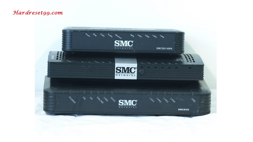 SMC SMCD3G-CCR Router - How to Reset to Factory Settings