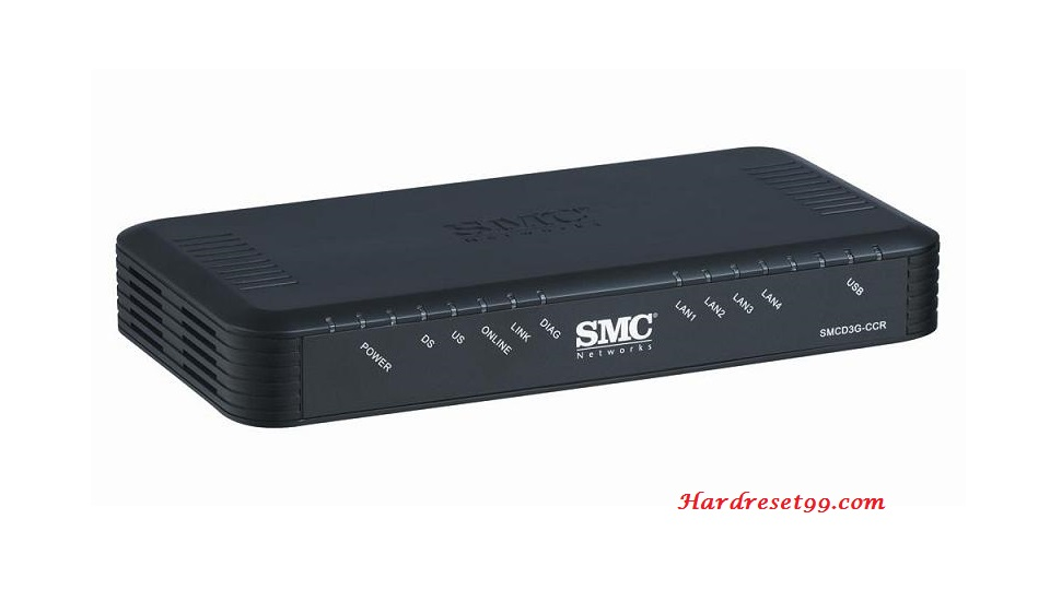 SMC SMCD3GN Router - How to Reset to Factory Settings