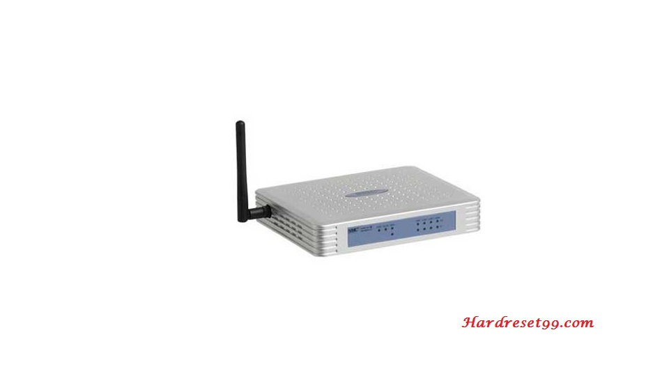 SMC SMCWBR14-G2-EU Router - How to Reset to Factory Settings