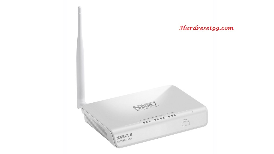 SMC WBR14S-Nv2 Router - How to Reset to Factory Settings