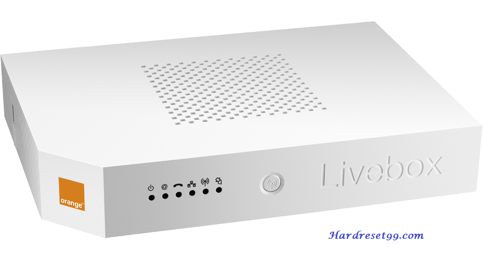 Sagem Livebox-2 Router - How to Reset to Factory Settings