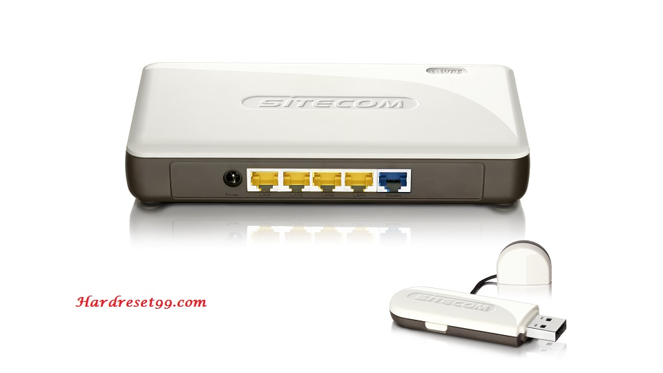 Sitecom WL-173 Router - How to Reset to Factory Settings