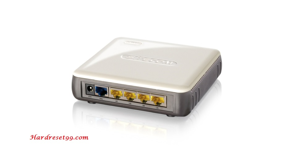Sitecom WL-342v2 Router - How to Reset to Factory Settings
