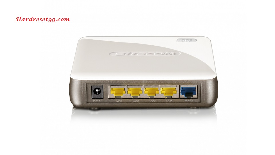 Sitecom WL-347 Router - How to Reset to Factory Settings