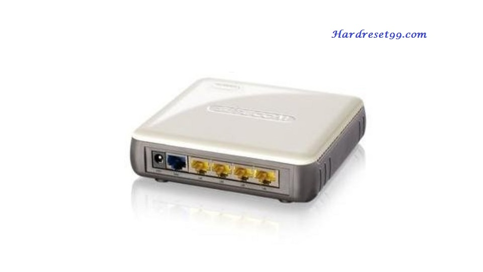 Sitecom WL-348 Router - How to Reset to Factory Settings