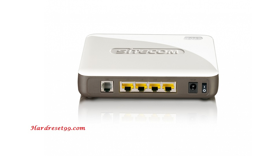 Sitecom WLM-5600 Router - How to Reset to Factory Settings