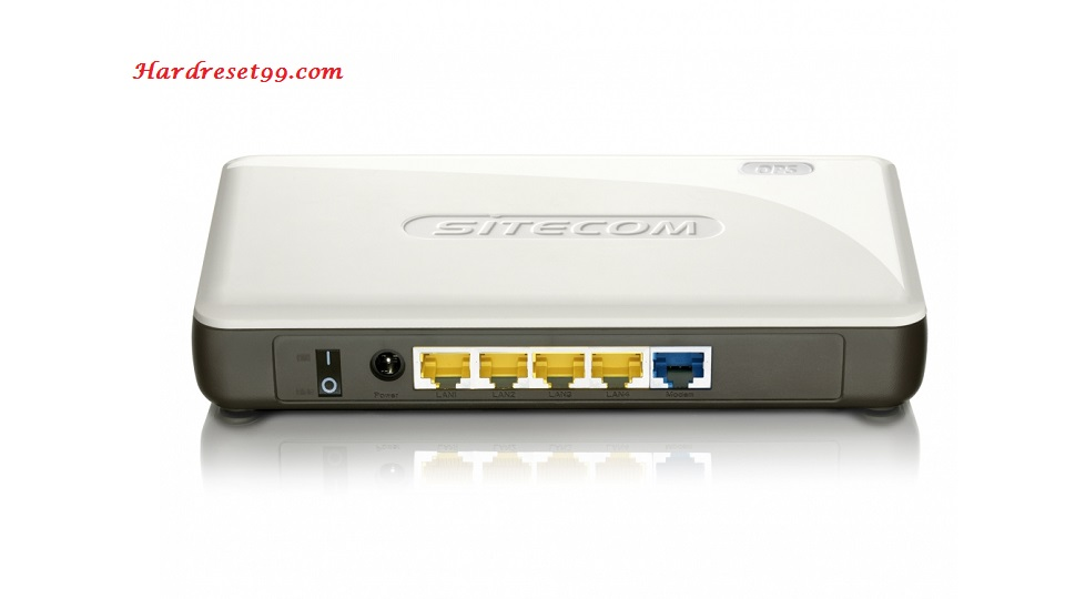 Sitecom WLR-5000 Router - How to Reset to Factory Settings