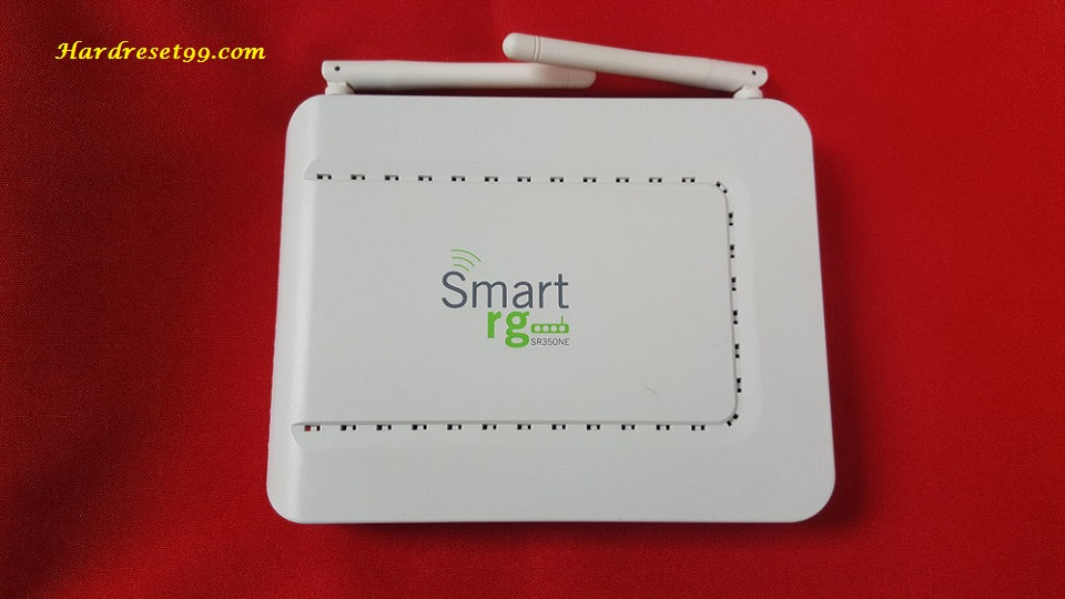 SmartRG SR350N Clear Access Router - How to Reset to Factory Settings