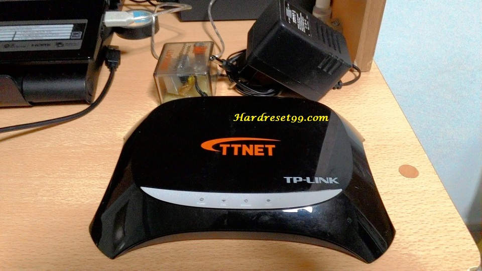 TP-Link TD864W Router - How to Reset to Factory Settings