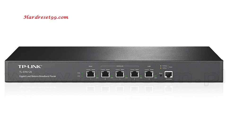 TP-Link TL-ER5120 Router - How to Reset to Factory Settings
