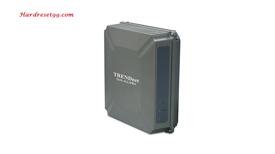 TRENDnet TEW-412APBO Router - How to Reset to Factory Settings