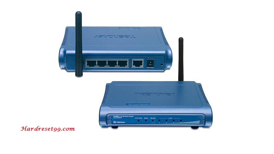 TRENDnet TEW-432BRPv2 Router - How to Reset to Factory Settings