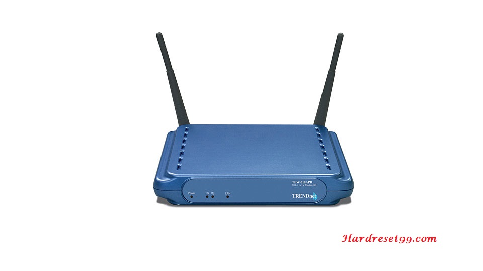 TRENDnet TEW-510APB Router - How to Reset to Factory Settings