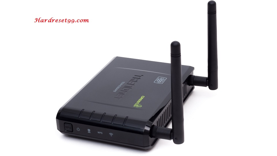 TRENDnet TEW-638APB Router - How to Reset to Factory Settings