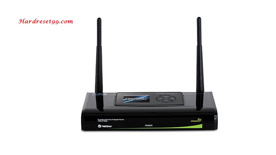 TRENDnet TEW-673GRU Router - How to Reset to Factory Settings