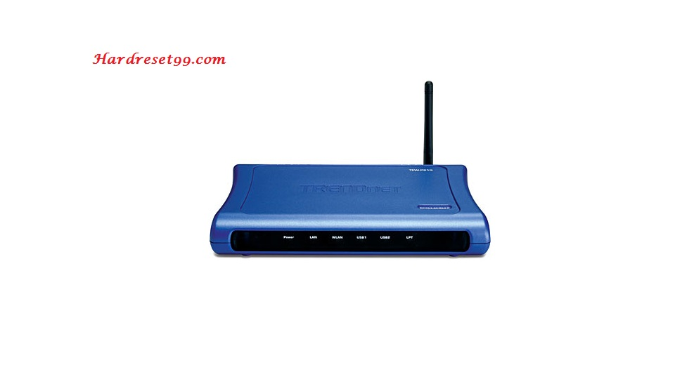 TRENDnet TEW-P21G Router - How to Reset to Factory Settings