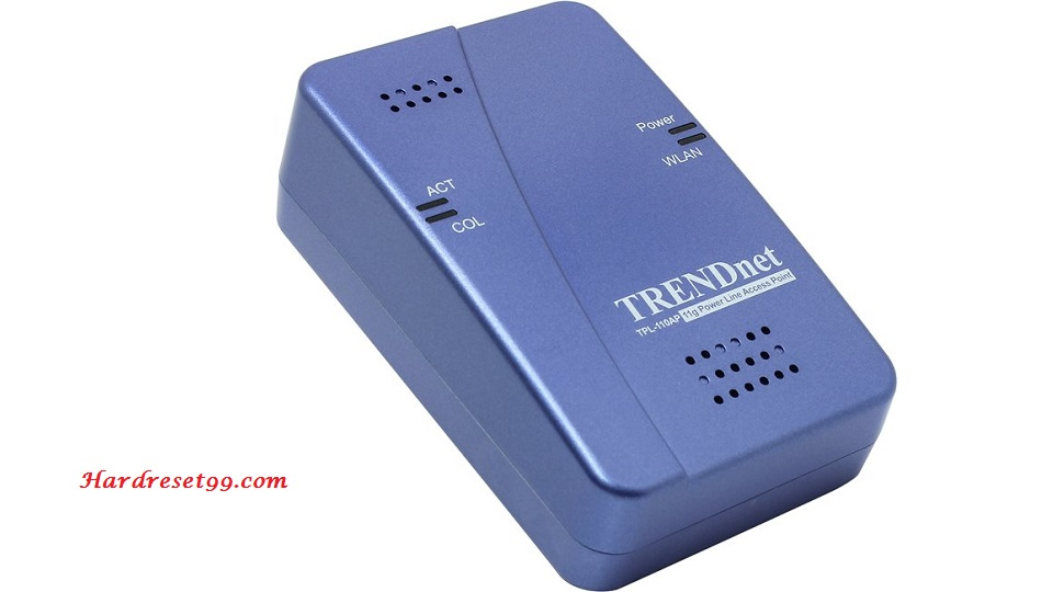 TRENDnet TPL-110AP Router - How to Reset to Factory Settings