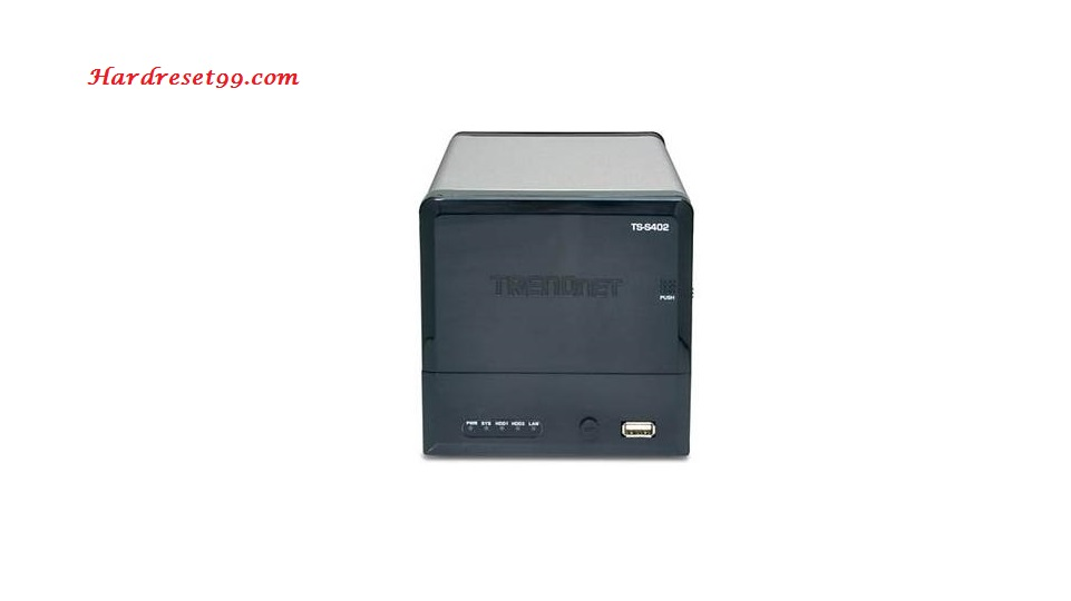 TRENDnet TS-S402 Router - How to Reset to Factory Settings
