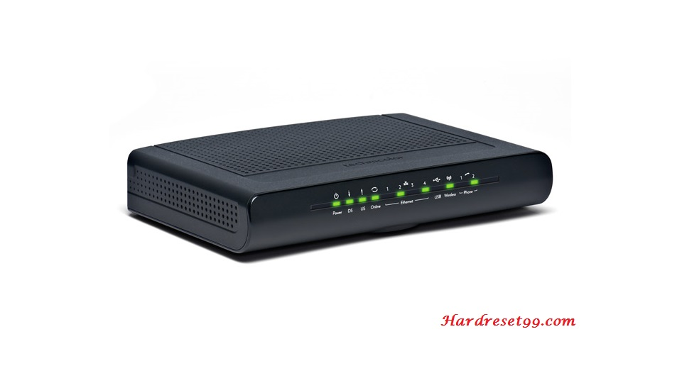 Technicolor TC7300 Router - How to Reset to Factory Settings