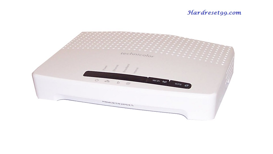 Technicolor TG852n-8.4.4.J Router - How to Reset to Factory Settings