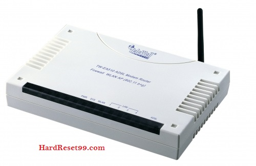 Telewell EA-310v3 Router - How to Reset to Factory Settings
