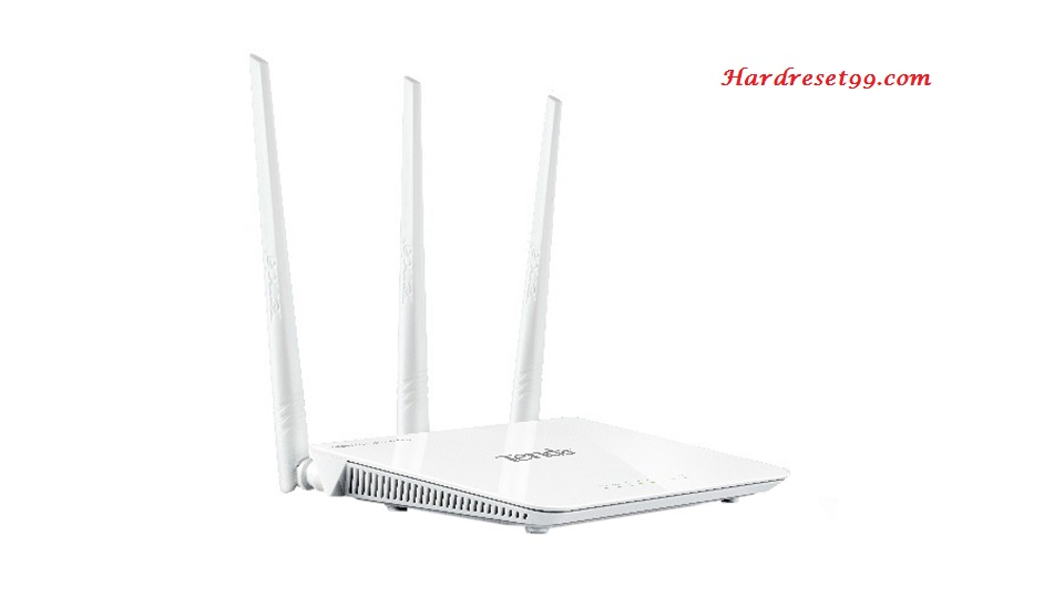 Tenda F303 Router - How to Reset to Factory Settings