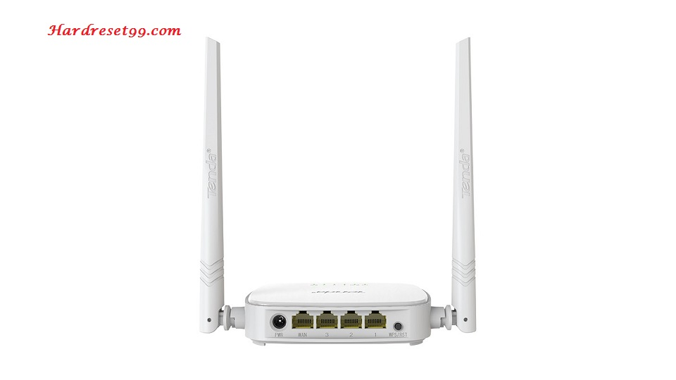 Tenda N301 Router - How to Reset to Factory Settings
