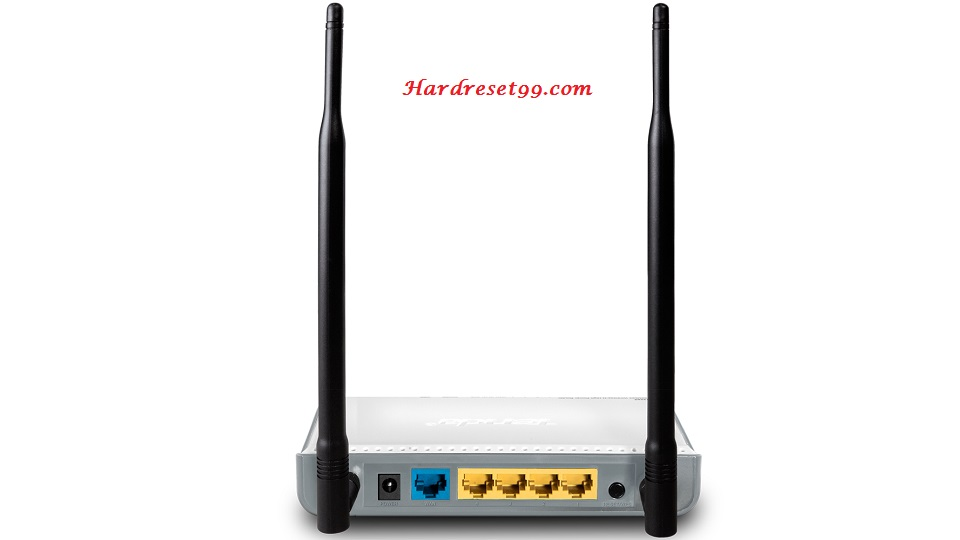Tenda W309R Router - How to Reset to Factory Settings