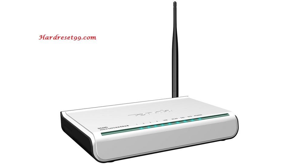 Tenda W548D Router - How to Reset to Factory Settings