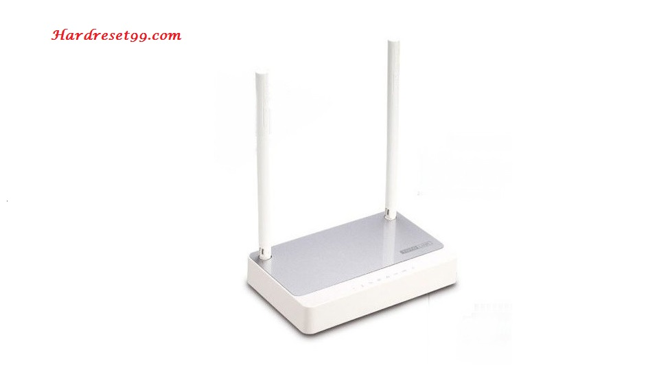 Totolink N200RE Router - How to Reset to Factory Settings