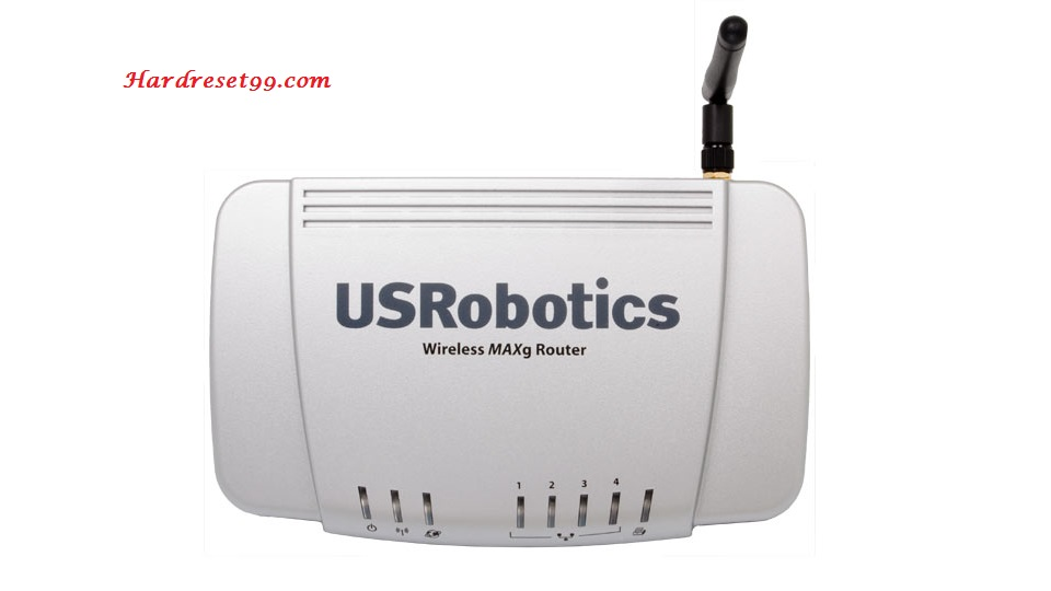US-Robotics USR5465 Router - How to Reset to Factory Settings