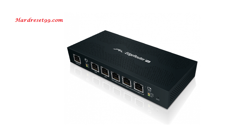 Ubiquiti ERPoe-5 Router - How to Reset to Factory Settings