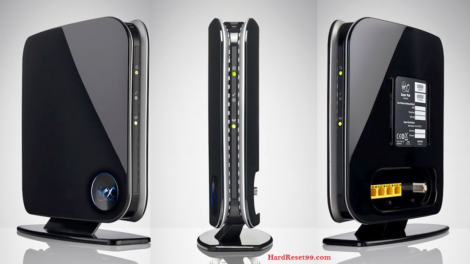 Virgin-Media CG3101D Router - How to Reset to Factory Settings