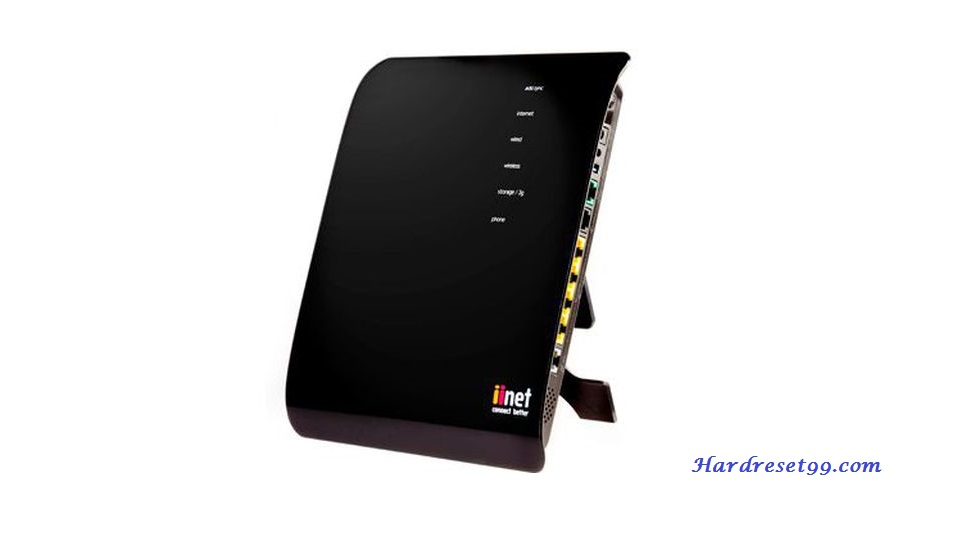 iiNet BoB Router - How to Reset to Factory Settings