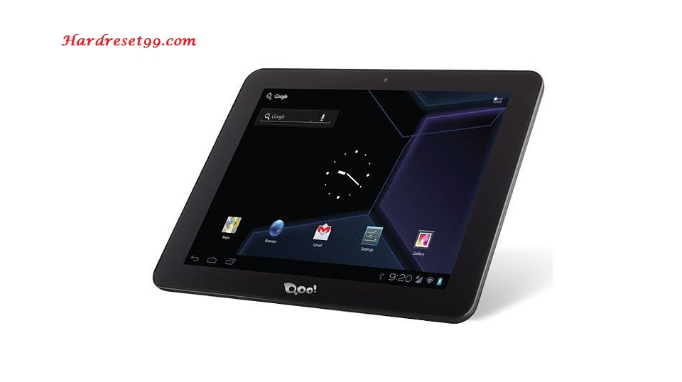 3Q p-pad QS9720 Hard reset - How To Factory Reset