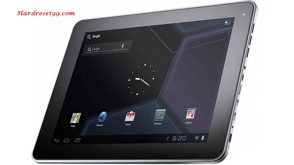 3Q p-pad RC9724C WiFi Hard reset - How To Factory Reset