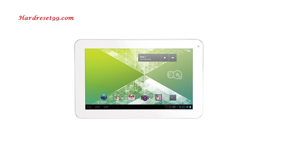 3Q p-pad RC9731 Hard reset - How To Factory Reset