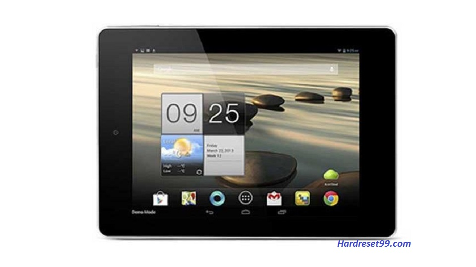 ACER A1-810 Iconia Tab Hard reset, Factory Reset and Password Recovery