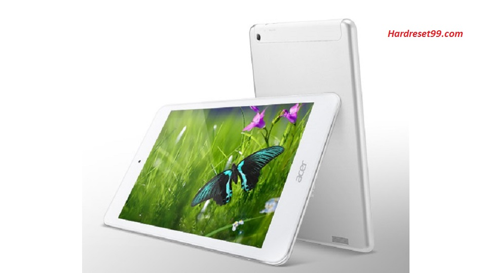 ACER A1-830 Iconia Tab 8 Hard reset, Factory Reset and Password Recovery