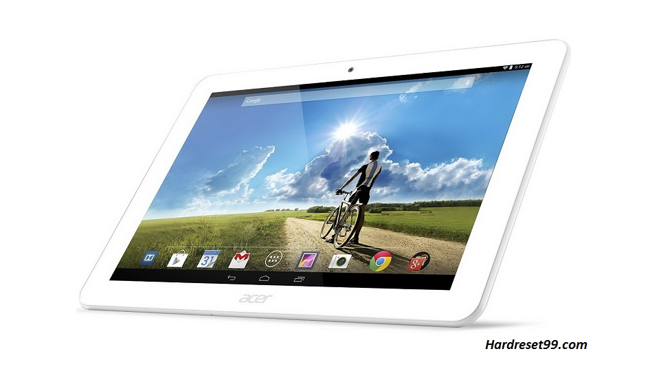 ACER A3-A20 Iconia Tab Hard reset, Factory Reset and Password Recovery
