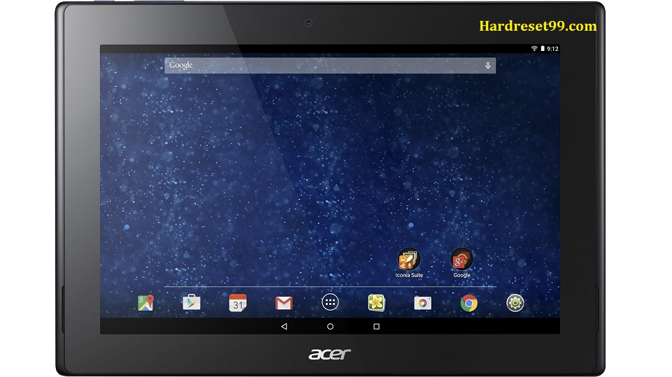 ACER A3-A30 Iconia Tab 10 Hard reset, Factory Reset and Password Recovery