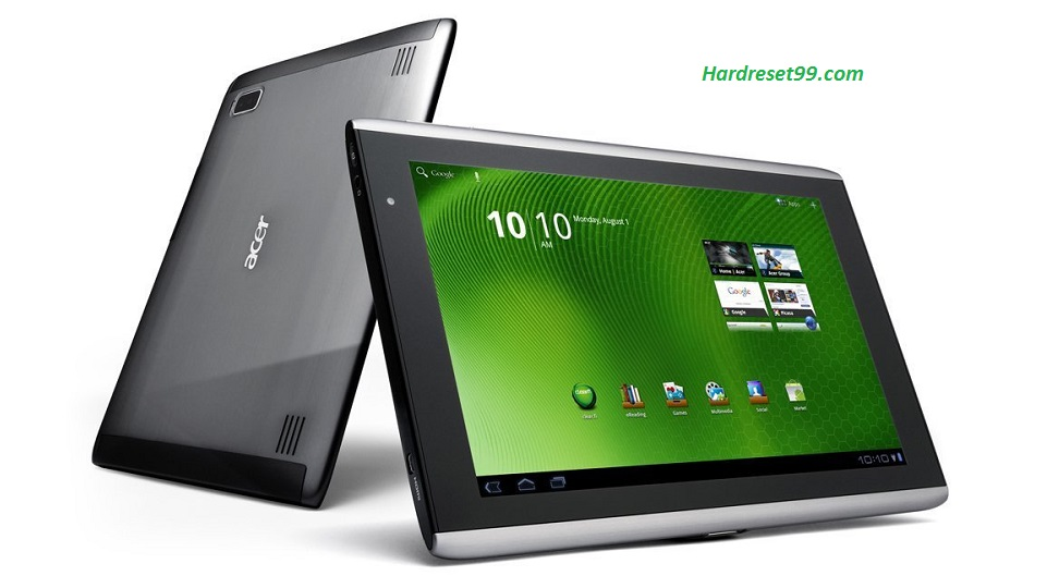 ACER A500 Iconia Tab Hard reset, Factory Reset and Password Recovery