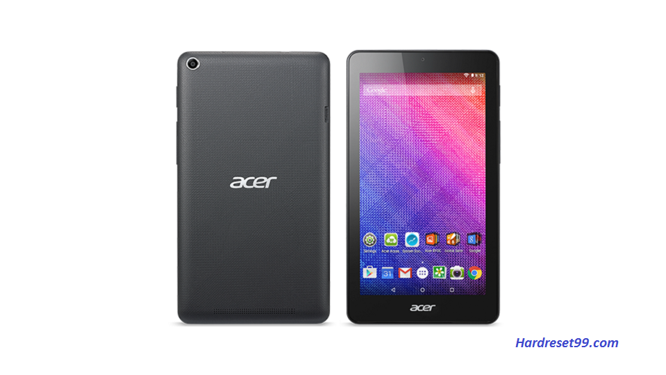 ACER B1-760HD Iconia One 7 Hard reset, Factory Reset and Password Recovery